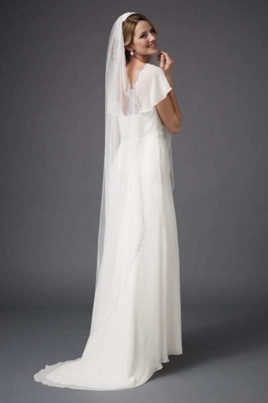 los modelos y diseños más utilizados de velos de novia - las hilanderas