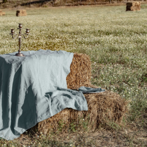 mantel-puro lino lavado-las hilanderas